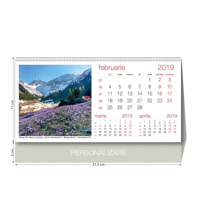 calendar romania agende si calendare 2019