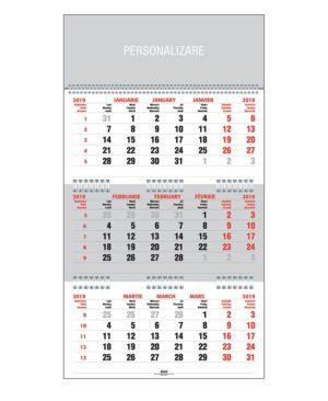 calendar 2019, calendar de birou, calendar